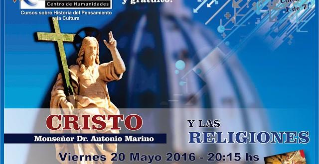 Café cultural   Centro Pieper   «Cristo y las Religiones» por mons. Dr. Antonio Marino