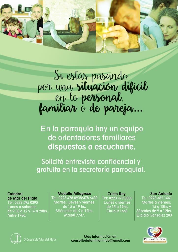 Afiche consultorias para las parroquias_