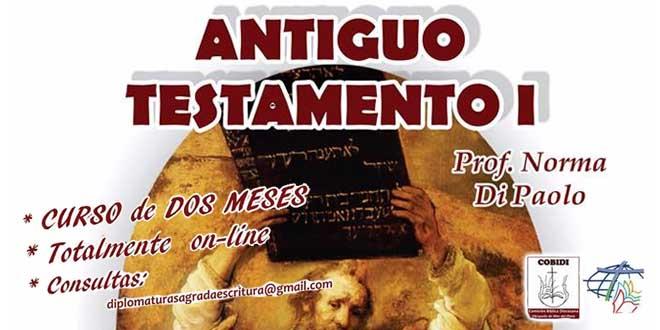 Cursa on-line la materia Antiguo Testamento I