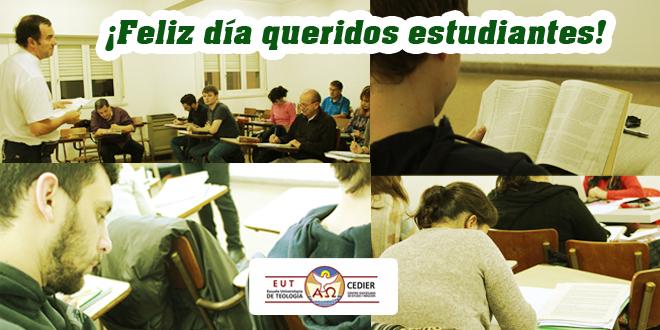 ¡Feliz día del estudiante!