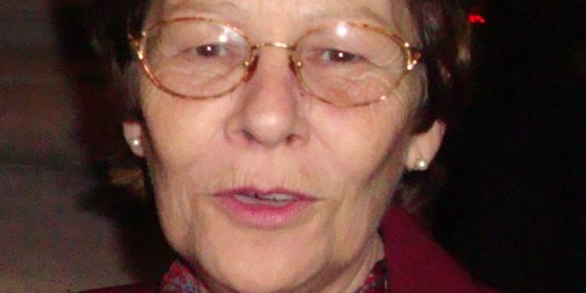 Fallecimiento de la profesora María Cristina Molina de Fazzini