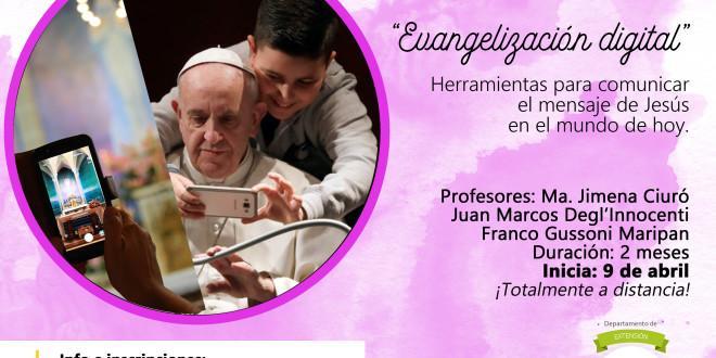 Seminario virtual   Evangelización digital. Herramientas para comunicar el mensaje de Jesús en el mundo de hoy.