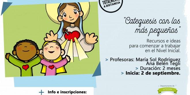 Seminario virtual | «Catequesis con los más pequeños» -2da edición-