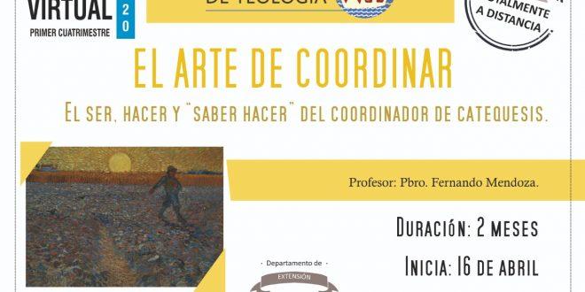 «EL ARTE DE COORDINAR»