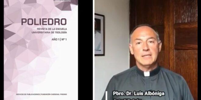 El Rector de la EUT presenta la Revista POLIEDRO