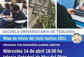 Misa de inicio del ciclo lectivo 2021