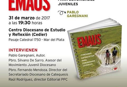 El profesor Pablo Garegnani, presentará su libro en el CEDIER