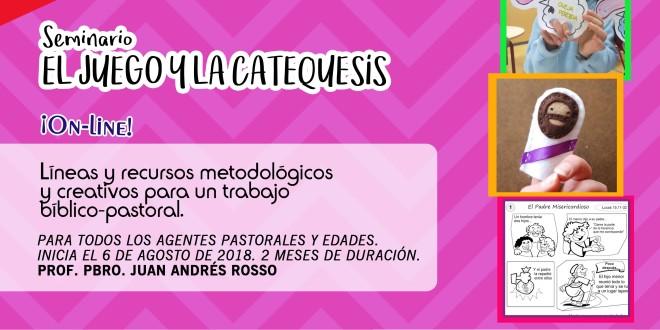 Seminario virtual | «Juego y catequesis» (4ta edición)