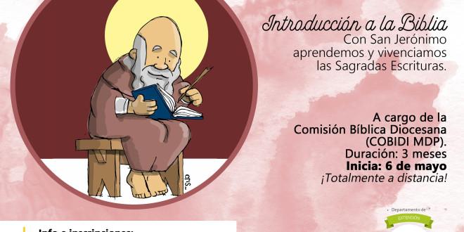Seminario virtual | Introducción a la Biblia. Con San Jerónimo aprendemos y vivenciamos las Sagradas Escrituras.