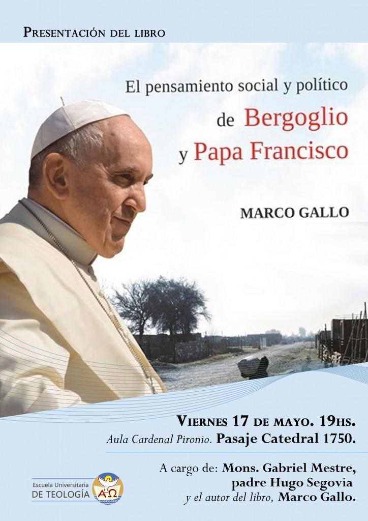 Presentación del libro Marco Gallo