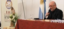 El vicerrector de la EUT brindará una conferencia en la Universidad Nacional del Centro