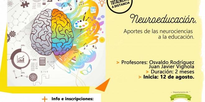 Seminario virtual | Neuroeducación. Aportes de la neurociencias a la educación (ATENCIÓN – cambio de fecha: Inicio 26 de agosto))