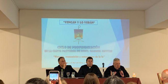 Se realizó la primera conferencia del ciclo «Vengan y lo verán»