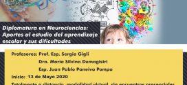 DIPLOMATURA SUPERIOR UNIVERSITARIA EN NEUROCIENCIAS: APORTES AL ESTUDIO DEL APRENDIZAJE ESCOLAR Y SUS DIFICULTADES
