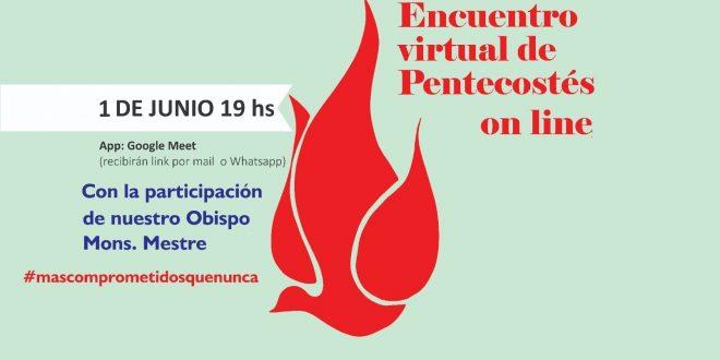 ENCUENTRO VIRTUAL DE PENTECOSTÉS