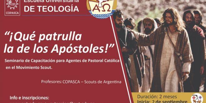 """CURSO VIRTUAL """"¡QUÉ PATRULLA LA DE LOS APÓSTOLES!"""""""