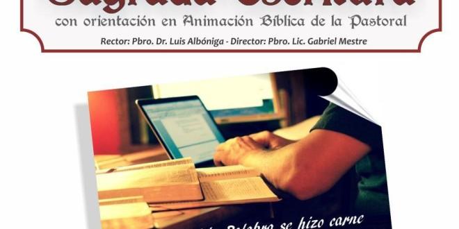 Comenzó la diplomatura on-line en Sagrada Escritura