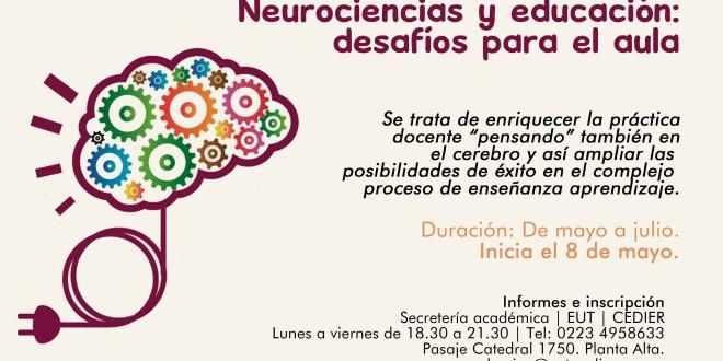 Seminario | «Neurociencias y educación: desafíos para el aula»