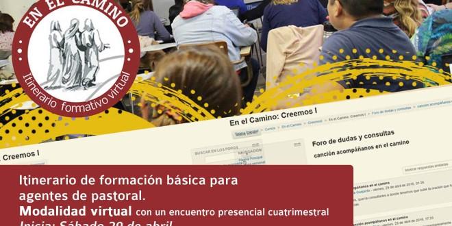 Inscribite «En el camino» itinerario formativo virtual
