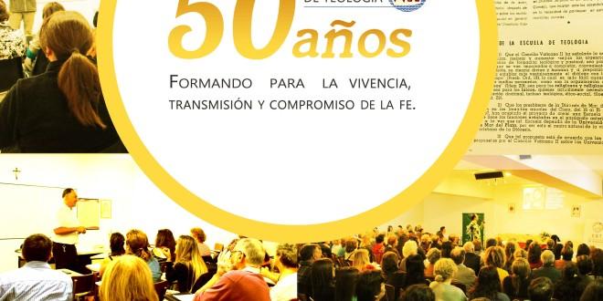 Jubileo de la Escuela Universitaria de Teología | 50 años | Misa el miércoles 11 a las 19