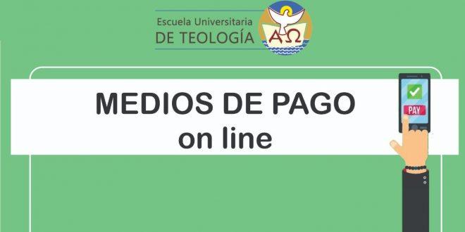 MEDIOS DE PAGO ON LINE DISPONIBLES