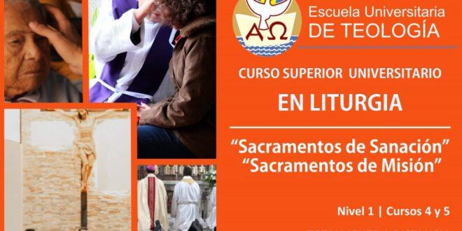 CURSOS 4 y 5 – Sacramentos de Sanación y de Misión