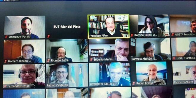 La EUT en la reunión de la Red Universitaria para el cuidado de la Casa Común