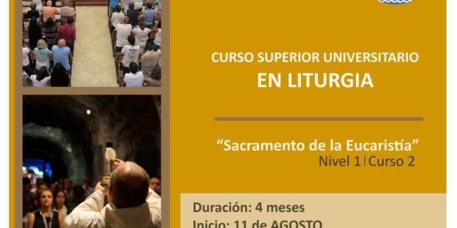CURSO 2 – El sacramento de la Eucaristía