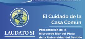 LA EUT Y LA MICROSEDE DE LA UNIVERSIDAD DEL SENTIDO EN EL CONGRESO INTERUNIVERSITARIO LAUDATO SI'
